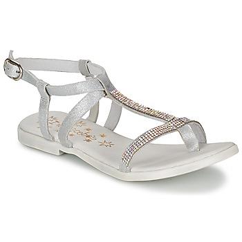 Pantofi Fete Sandale  Acebo's MADALEN Argintiu