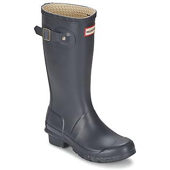Pantofi Copii Cizme de cauciuc Hunter ORIGINAL KIDS Bleumarin