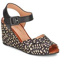 Pantofi Femei Sandale și Sandale cu talpă  joasă Robert Clergerie DISON Negru
