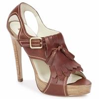 Pantofi Femei Sandale și Sandale cu talpă  joasă Rupert Sanderson MANON Elbamatt-cuoio