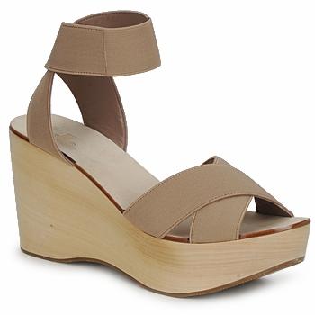 Pantofi Femei Sandale și Sandale cu talpă  joasă Belle by Sigerson Morrison ELASTIC Nude