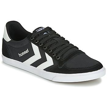 Pantofi Pantofi sport Casual Hummel TEN STAR LOW CANVAS Negru / Alb