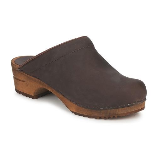 Pantofi Femei Saboti Sanita CHRISSY OPEN Maro