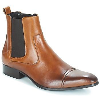 Pantofi Bărbați Ghete Carlington ERINZI Coniac