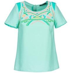 Îmbracaminte Femei Topuri și Bluze Color Block ADRIANA Albastru