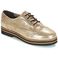 Pantofi Femei Pantofi Derby Coolway AVO Auriu / Negru