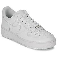 Încăltăminte Femei Pantofi sport Casual Nike AIR FORCE 1 07 LEATHER W Alb