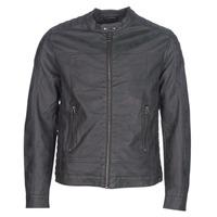 Îmbracaminte Bărbați Jachete din piele și material sintetic Esprit VENI Negru