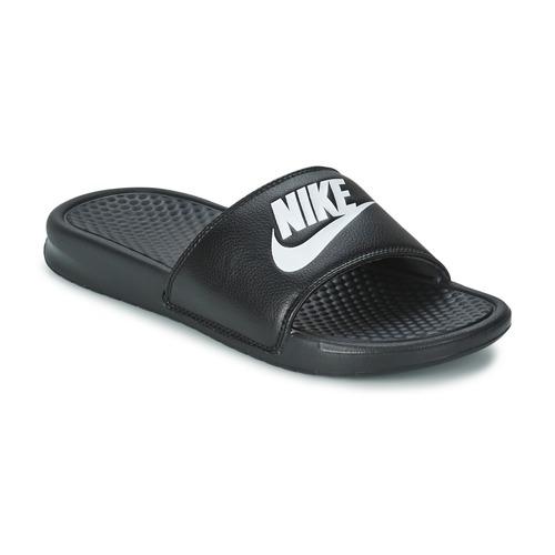 Pantofi Bărbați Șlapi Nike BENASSI JUST DO IT Negru