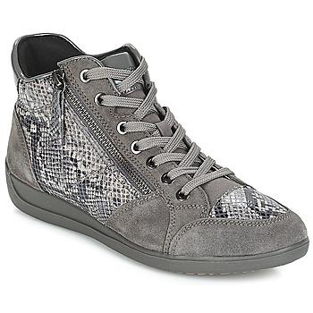 Încăltăminte Femei Pantofi sport Casual Geox D MYRIA Gri / Culoare închisă