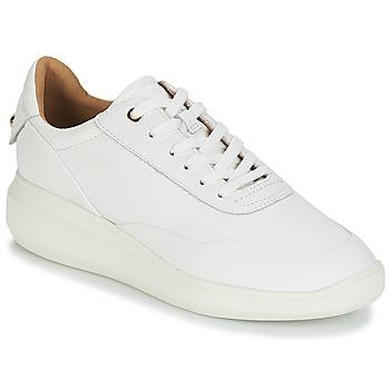Pantofi Femei Pantofi sport Casual Geox D RUBIDIA Alb