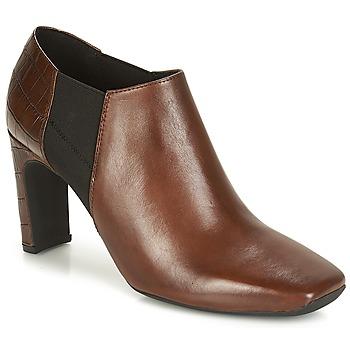 Pantofi Femei Botine Geox D VIVYANNE HIGH Maro