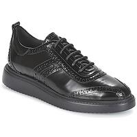 Pantofi Femei Pantofi Derby Geox D THYMAR Negru