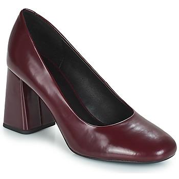 Pantofi Femei Pantofi cu toc Geox D SEYLISE HIGH Roșu-bordeaux