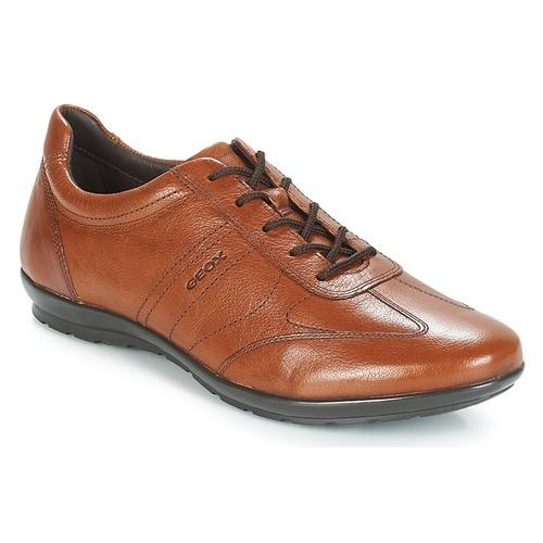 Pantofi Bărbați Pantofi Derby Geox UOMO SYMBOL Maro
