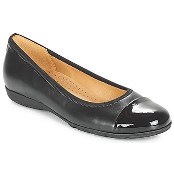 Pantofi Femei Balerin și Balerini cu curea Gabor BORINA Negru