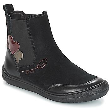 Pantofi Fete Ghete Geox J HADRIEL GIRL Negru