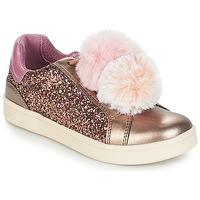 Pantofi Fete Pantofi sport Casual Geox J DJROCK GIRL Bej / Roz