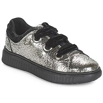 Pantofi Fete Pantofi sport Casual Geox J DISCOMIX GIRL Argintiu