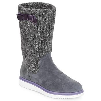 Pantofi Fete Cizme casual Geox J THYMAR GIRL Gri