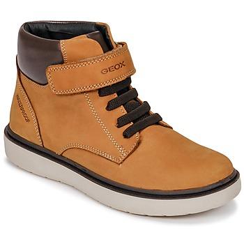 Pantofi Băieți Pantofi sport stil gheata Geox J RIDDOCK BOY WPF Maro