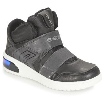 Încăltăminte Băieți Pantofi sport stil gheata Geox J XLED BOY Negru