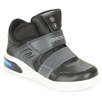 Pantofi Băieți Pantofi sport stil gheata Geox J XLED BOY Negru