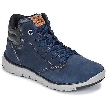 Pantofi Băieți Pantofi sport stil gheata Geox J XUNDAY BOY Albastru / Negru