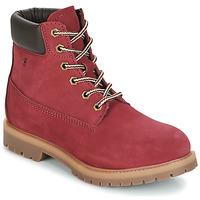 Pantofi Femei Ghete Casual Attitude JORD Roșu
