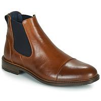 Pantofi Bărbați Ghete Casual Attitude JANDY Coniac / Bleumarin