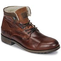 Pantofi Bărbați Ghete Casual Attitude JOPA Maro