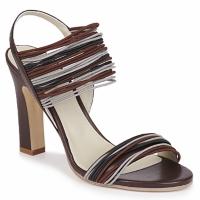 Pantofi Femei Sandale și Sandale cu talpă  joasă Jil Sander JS16121 Maro