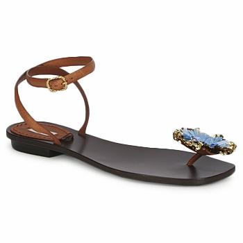 Încăltăminte Femei Sandale și Sandale cu talpă  joasă Marc Jacobs MJ16131 Maro / Albastru
