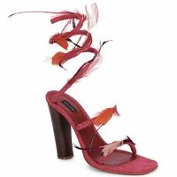 Încăltăminte Femei Sandale și Sandale cu talpă  joasă Marc Jacobs MJ16385 Roz