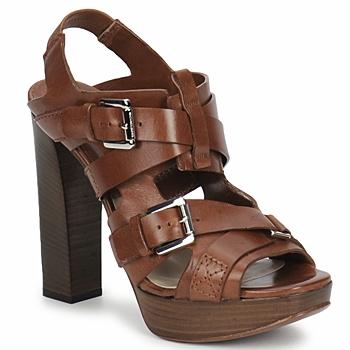 Încăltăminte Femei Sandale și Sandale cu talpă  joasă Michael Kors MOWAI Maro