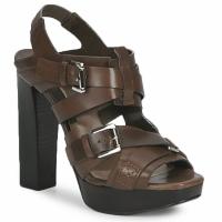 Pantofi Femei Sandale  Michael Kors MOWAI Taupe