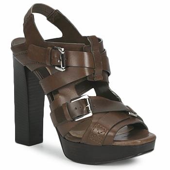 Încăltăminte Femei Sandale și Sandale cu talpă  joasă Michael Kors MOWAI Taupe