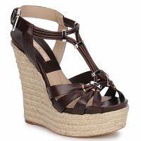 Pantofi Femei Sandale și Sandale cu talpă  joasă Michael Kors IDALIA Maro