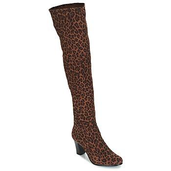 Încăltăminte Femei Cizme casual André PRISCA 3 Leopard