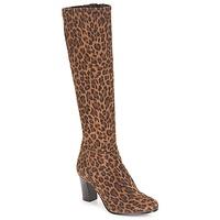 Pantofi Femei Cizme casual André GANTELET 4 Leopard