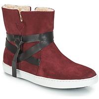 Pantofi Femei Ghete André ALTHEA Roșu-bordeaux