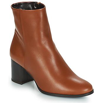 Pantofi Femei Botine André DARA Camel