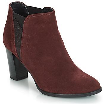 Pantofi Femei Botine André ROSACE Roșu-bordeaux