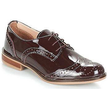 Încăltăminte Femei Pantofi Derby André PLYMOUTH Roșu-bordeaux