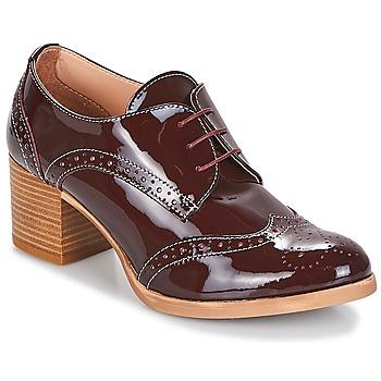 Pantofi Femei Pantofi Derby & Pantofi Oxford André BIRMINGHAM Roșu-bordeaux