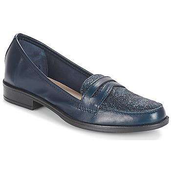 Pantofi Femei Mocasini André LONG ISLAND Albastru