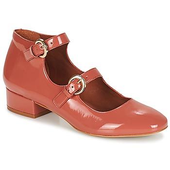 Pantofi Femei Balerin și Balerini cu curea André GABIE Roz