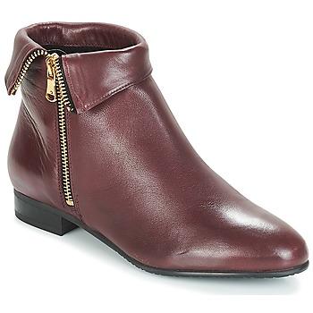 Pantofi Femei Ghete André PIMENTO Roșu-bordeaux