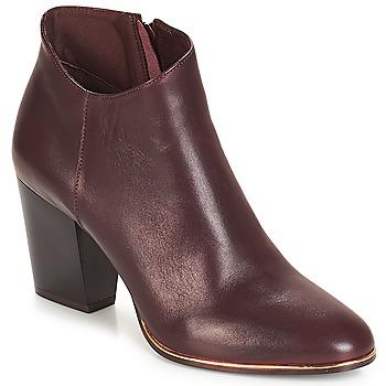 Pantofi Femei Botine André RIKA Roșu-bordeaux