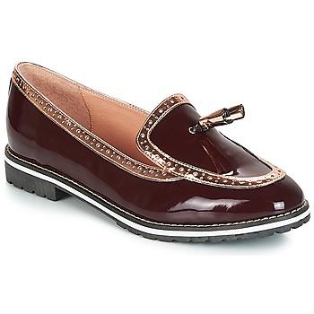 Pantofi Femei Mocasini André DEBBY Roșu-bordeaux